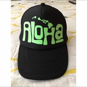 Other - Aloha trucker hat