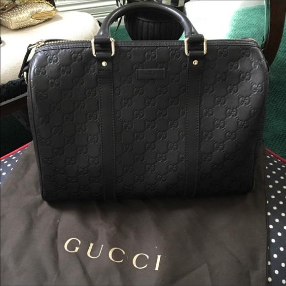 53da7868c636 20% off Gucci Handbags - Gucci guccissima joy Boston leather medium bag  from Lily&#