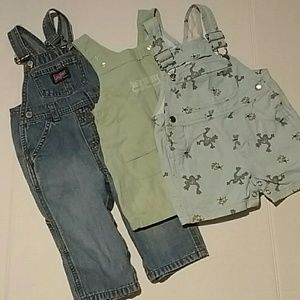 Class Club Other - Boys 12 months bundle overalls