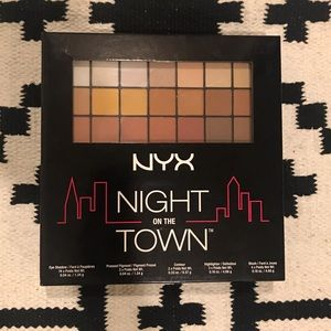 NYX Cosmetics Other - New NYX.night out full makeup eyeshadow pallet