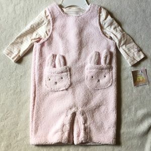 Bunnies by the Bay Other - Fleece overall set