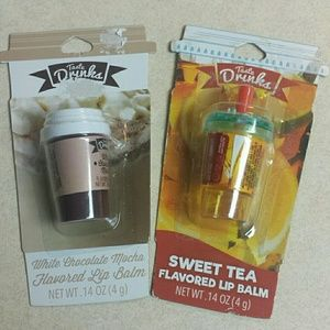 Other - White Chocolate Mocha & Sweet Tea Lip Balm