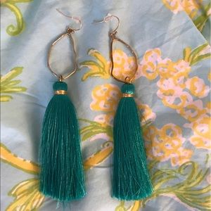 talley collections Jewelry - Talley Collections Oyster Tassel Earrings