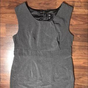 mossimo Dresses & Skirts - Heathered Gray Lined Sleeveless Sheath Dress 16