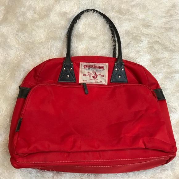 True Religion travel bag tote. M 5951695fa88e7d1995014479 9b9011fd4b72e