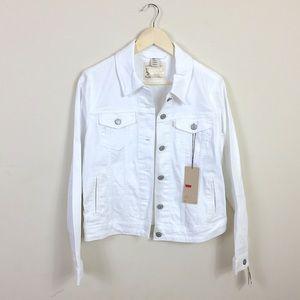 Levi's Jackets & Blazers - {Levi's} NWT White Trucker Jacket