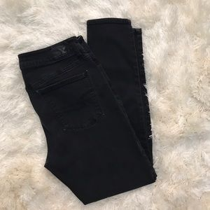 American Eagle Outfitters Pants - BLACK AE JEGGINGS