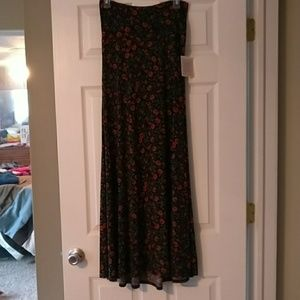 LuLaRoe Rose Maxi Skirt