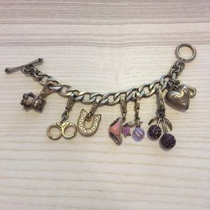 Jewelry - Juicy Couture Loaded Charm Bracelet