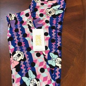 LuLaRoe Pants - LuLaRoe OS Disney leggings