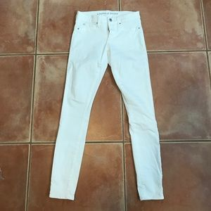 Articles Of Society Denim - Articles Of Society White Jeans