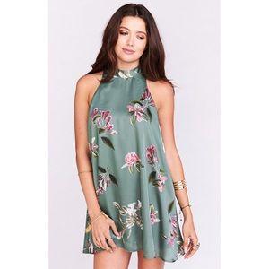 NWT Show Me Your Mumu V Right Back Mini Dress