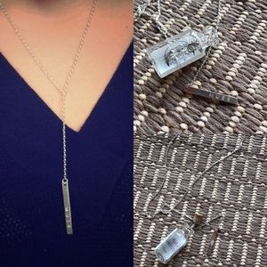 Free People Jewelry - NWT free people bottle muse y lariat necklace