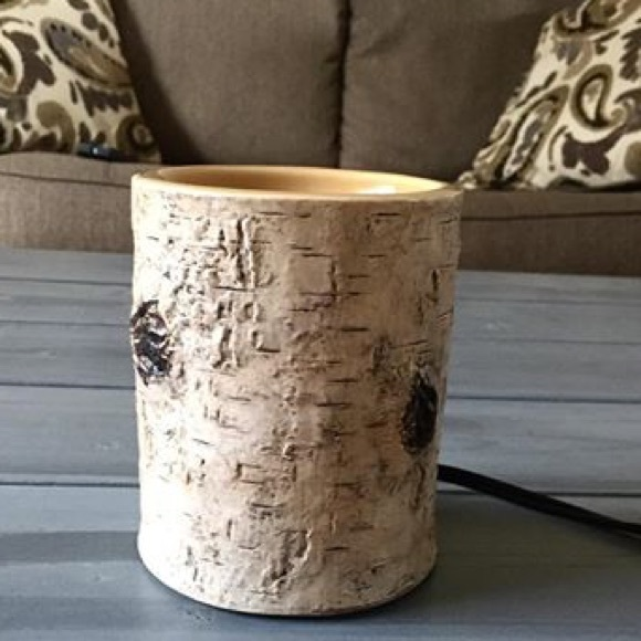 Scentsy Nib Scentsy River Birch Warmer Great For Camp