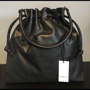 Clare Vivier Handbags - Clare V Herni Drawstring Shoulder Bag