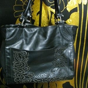 Big Buddha Handbags - Beautiful Big Buddha Black Purse lattice bag