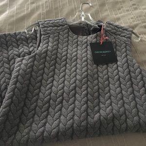Cynthia Rowley Grey Sweater Dress