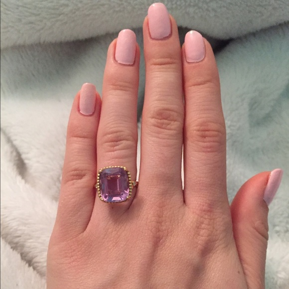 ba49bdc2c Tiffany & Co. Jewelry | Tiffany Co Sparklers Amethyst Cocktail Ring ...