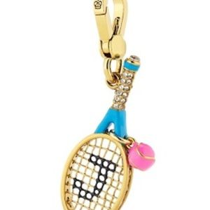 Juicy Couture Tennis Racket Charm