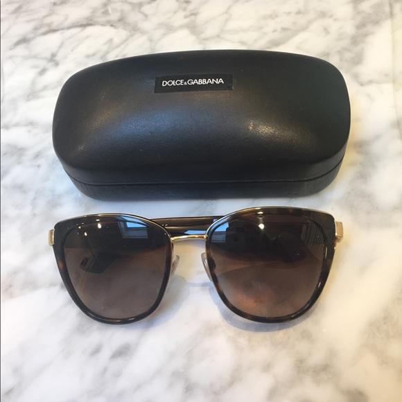 cc9872b68991 19% off Dolce   Gabbana Accessories - Dolce and Gabbana DG2107 Cat Eye  Sunglasses from