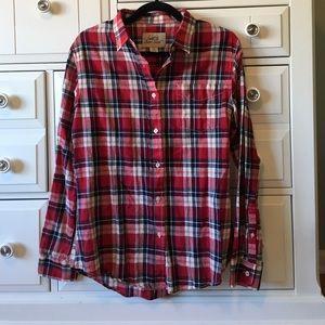 Jachs Tops - Just A Cheap Shirt Red Button Down Sz L