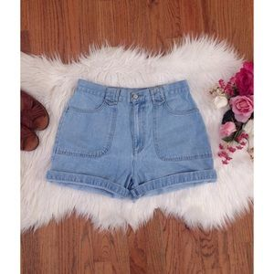 Urban Outfitters Pants - Vintage 90's High Waisted Mom Shorts 🌼