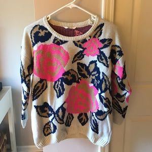 Floral Sweatshirt 🌸