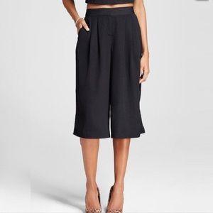 Mossimo Pants - NWT MOSSIMO 10 $23 BLACK GOUCHO CULOTTE PANTS