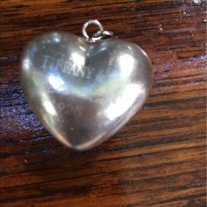 Tiffany & Co. Jewelry - Tiffany xl puffy heart signed