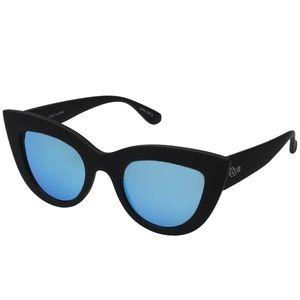 Quay Australia Accessories - Quay cat eye sunglasses blue lens