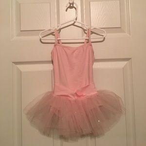 Capezio Other - Capezio Ballet Dress-pink leotard w/attached skirt
