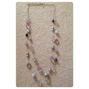 New York & Company Jewelry - Silver beaded necklace