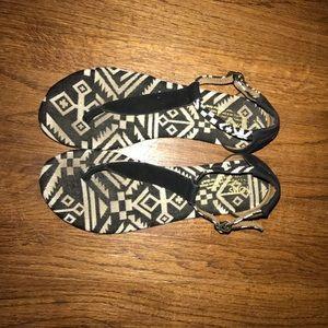 Toms Shoes - Barley worn toms sandals