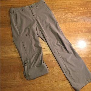 REI Pants - REI light brown convertible capris hiking pants