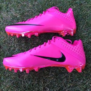 Nike Vapor Football Cleats Pink Mens
