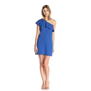 Cooper & Ella, Brooke one - shoulder dress.
