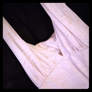 Taboo Dresses & Skirts - Gold Halter Top Dress