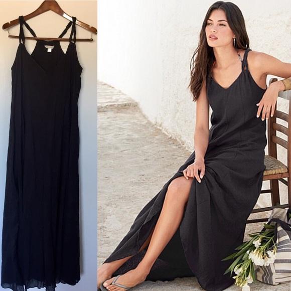 0aa0ba35707 Garnet Hill Dresses & Skirts - Garnet Hill - Cotton Gauze Long Cover-Up