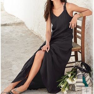 4540adb9c2e Garnet Hill Dresses - Garnet Hill - Cotton Gauze Long Cover-Up