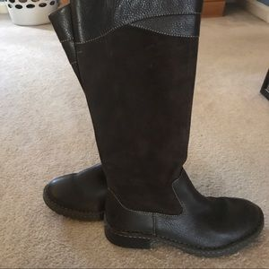 Born Shoes - Genuine leather sturdy warm boots