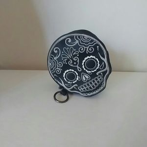 LF Handbags - Loungefly skull coin purse stash bag