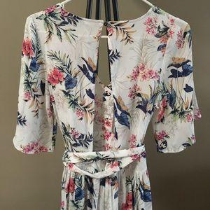 19e23908996 American Eagle Outfitters Other - American Eagle Outfitters Kimono Maxi  Romper