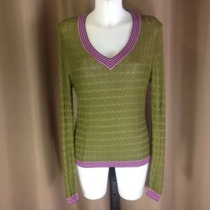 Missoni for Target Sweaters - Missoni for target chevron knit sweater