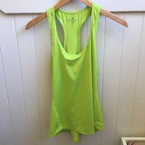 3/15 5/25 Like New Athleta Chi Tank Lime Green