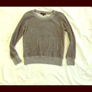 SALE Gray Sparkly Holiday Diva Pullover Sweater