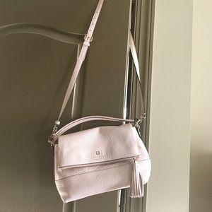 kate spade Handbags - Kate spade light pink cross body tassel bag