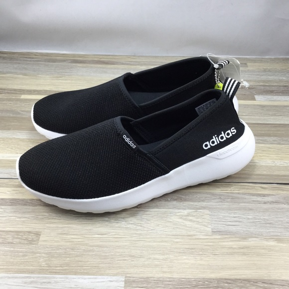 Adidas Neo Cloudfoam Lite Racer Slip On Shoes NWT