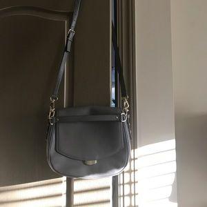 kate spade Handbags - Never used gray Kate spade crossbody