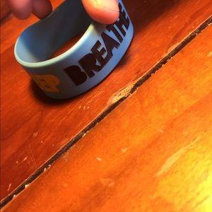 Jewelry - Authentic breathe Carolina rubber bracelet