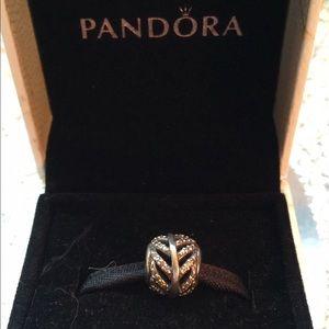Pandora Retired Feather Charm